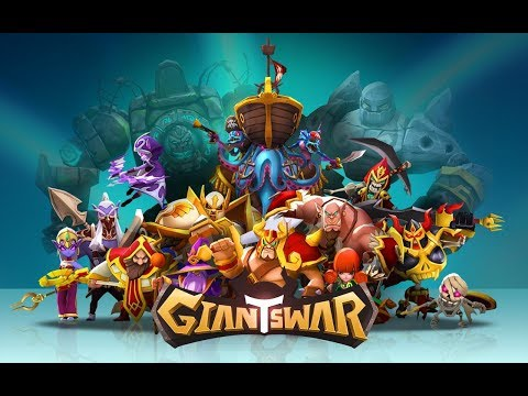 Giants War android game first look gameplay español