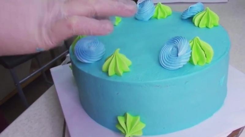 Процесс изготовления от А до Я с Saint Cake!