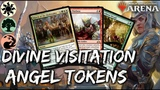 Divine Angels MTG Arena Naya Angel Tokens Deck in GRN Standard