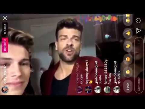 Directo de Ricky con las palabras de Roi, Amaia y Raoul emocionado 25-8-18