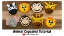 How to make animal cupcakes Irma's Fondant Cakes 5 styles