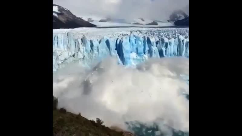 Таяние голубого льда