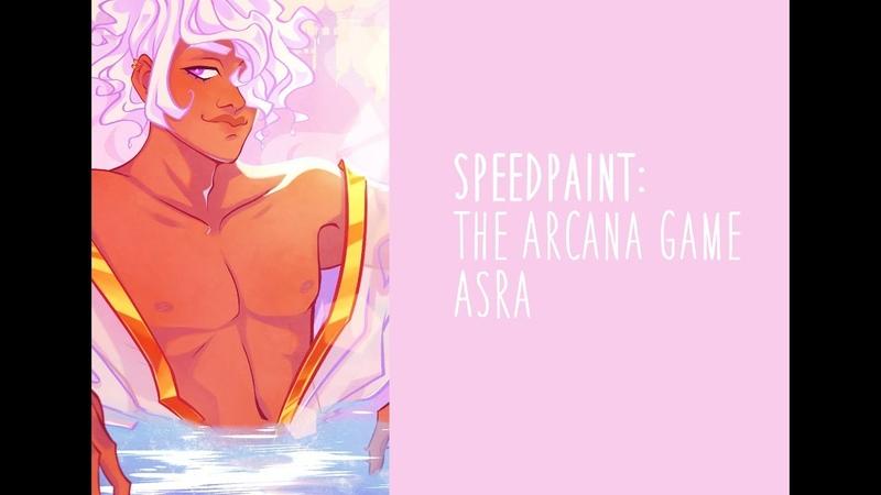 [Speedpaint] The Arcana Game: Asra