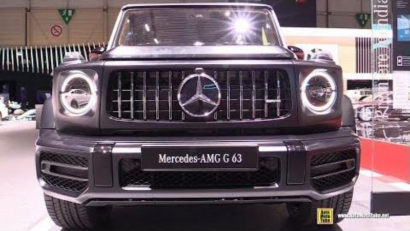 2019 Mercedes AMG G63 Edition 1 - Exterior and Interior Walkaround - Debut at 2018 Genava Motor Show
