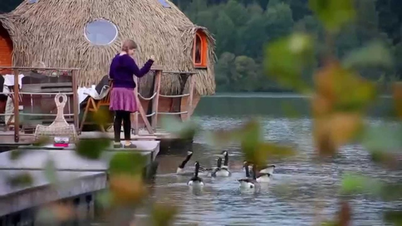 Dormir dans une Cabane...un week-end insolite et romantique aux Cabanes des Grands Lacs