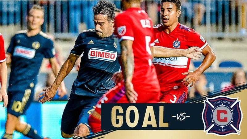 GOAL: Philadelphia Union Illsinho's skills lead to score against Chicago Fire - HUMILHOU O SCHWEINSTEIGER
