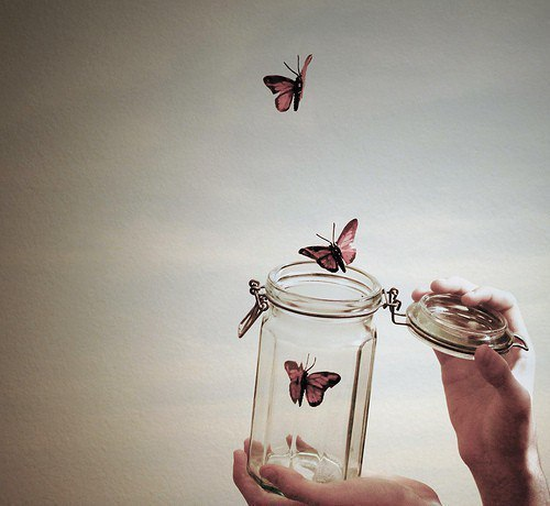Если ты любишь что-то — отпусти. Если оно твое — оно вернется.