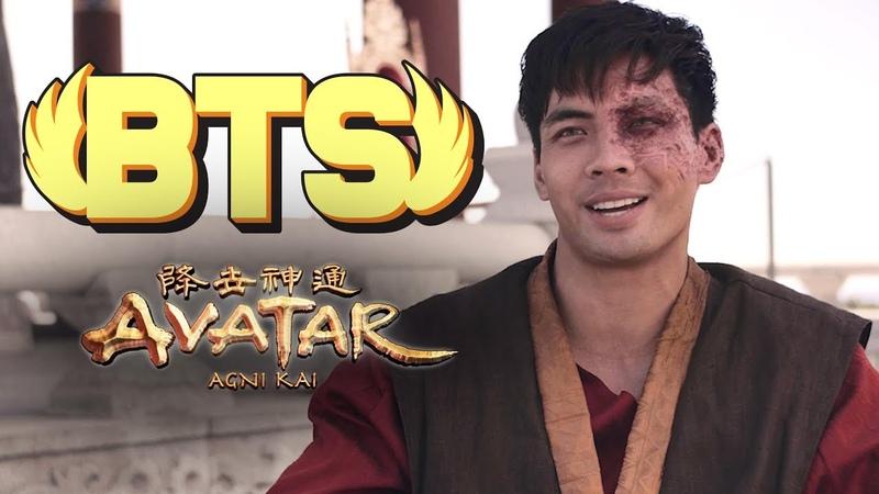 Avatar the Last Airbender Agni Kai BTS RE ANIME