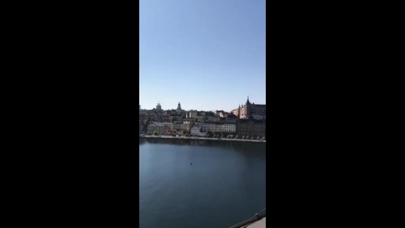 Экскурсия по крышам в Стокгольме
