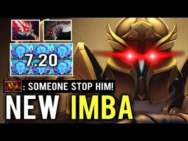 NEW IMBA SKILL Mid Omniknight 7.20 Grace -80% Resistance Raid Boss Crazy Gameplay Top NA WTF Dota 2