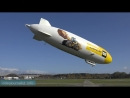 Mit dem Zeppelin NT von Friedrichshafen nach Salm und über Bodensee