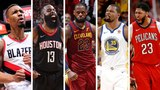 NBA 1st Team All-NBA Best Plays From LeBron James, James Harden + More