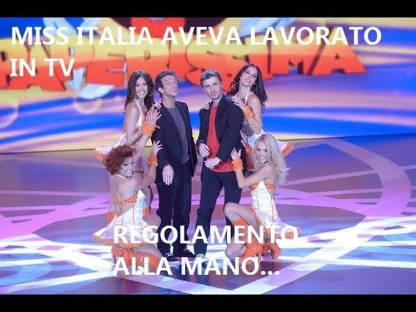 Miss Italia, non solo foto di nudo, lunga esperienza in tv. La corona SI ALLONTANA