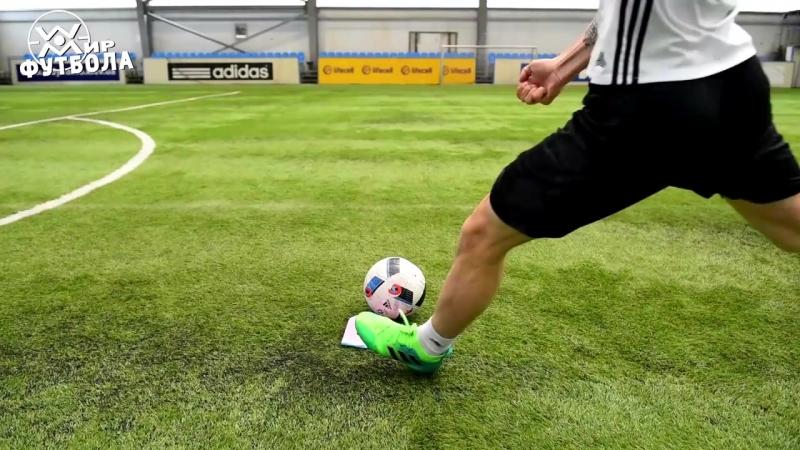 2. Обучение удару в футболе. Часть 2. Опорная нога.
