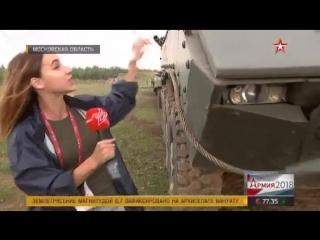 Мощно и зрелищно: кадры шоу Вежливые люди на форуме Армия-2018
