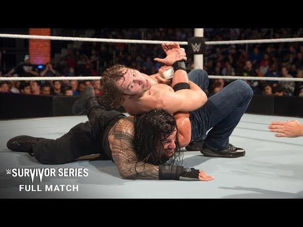 FULL MATCH - Dean Ambrose vs. Roman Reigns - WWE World Heavyweight Title: Survivor Series 2015
