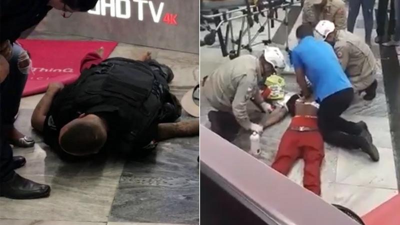 Jovem morre após ser estrangulado por segurança do supermercado Extra no RJ