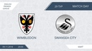 AFL18 England Premier League Day 29 Wimbledon Swansea City