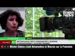 ▶▶Michél Sibony clash Netanyahou et Macron sur la Palestine.