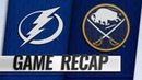 Hutton, Sabres hold off Lightning, 2-1
