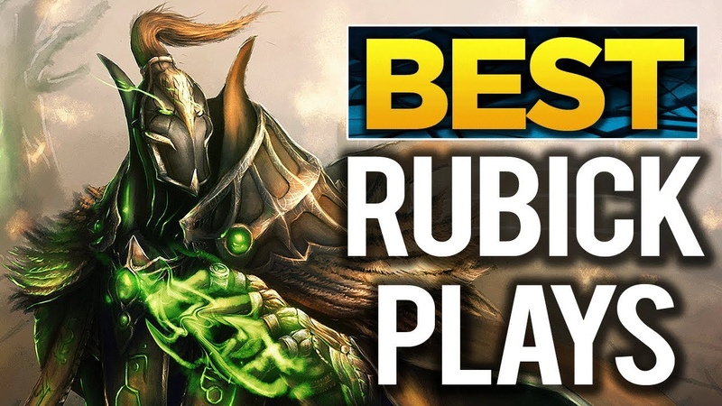 BEST Rubick Plays of TI8 - The International 2018 - Dota 2