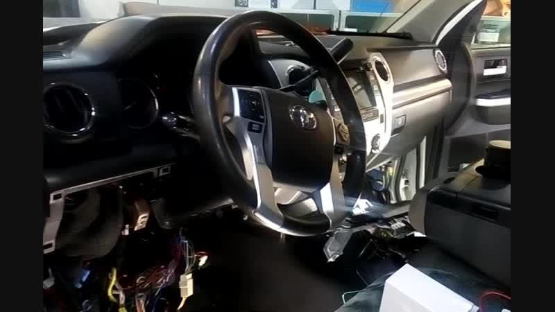 Установка противоугонной системы на автомобиль Тойота в Авто Ателье АврорА