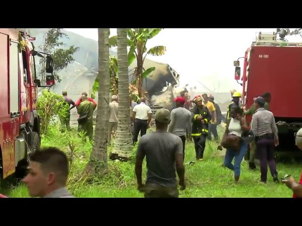 Accidente De Avión En Cuba Primeras Imágenes