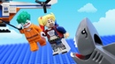 Lego Airport Robbery - Lego Stop Motion Animation   Brick King TV