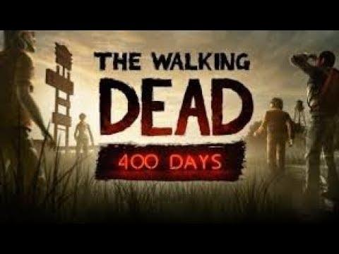 Время WALKING DEAD 400 days ШЭЛЬ