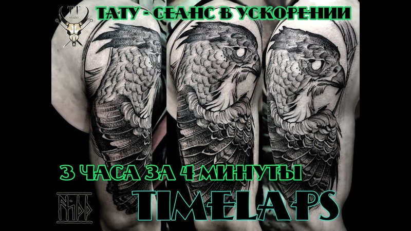 NS66 tattoo Time laps (Scetch by Fredao Oliveira
