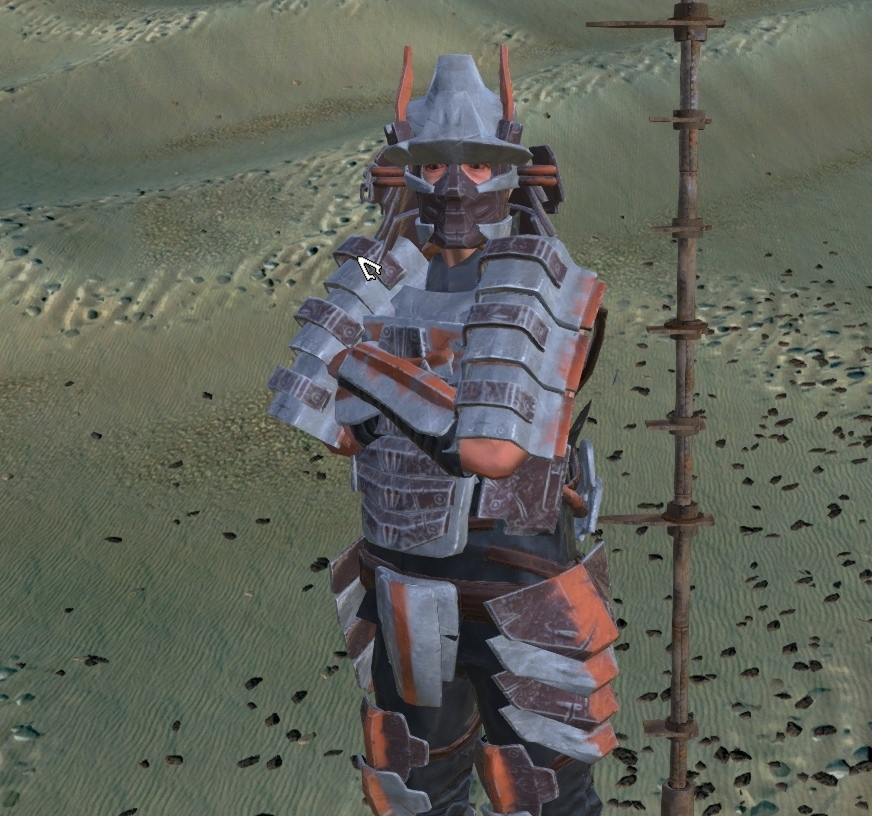 "Gusoku Armor Set / Комплект Брони ""Gusoku"" (RU)"