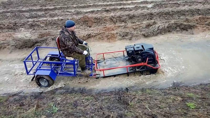 Бурлак ЭКСПЕДИТОР грязи НЕ БОИТСЯ