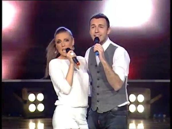 Bane Mojićević i Aleksadra Marjanović - Voli me (Z Granda 2011_2012 - Emisija 27 - 07.04.2012)