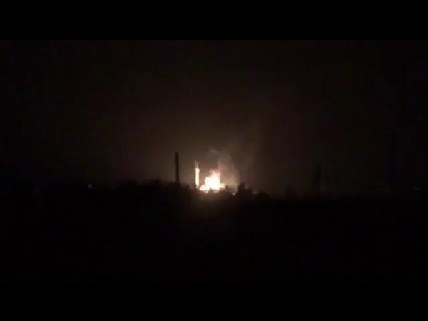 1 июля 2018 взрыв на газораспределительной станции в ДНР
