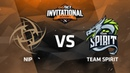 NiP против Team Spirit, Вторая карта, Вторая часть, Группа А, GG.Bet Dota 2 Invitational