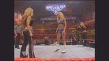 Torrie Wilson &amp Trish Stratus vs. Candice Michelle &amp Mickie James Raw, April 3, 2006