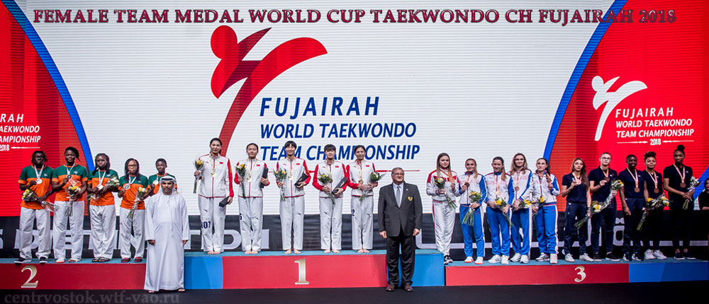 Team-Female-Taekwondo-Fujairah-2018