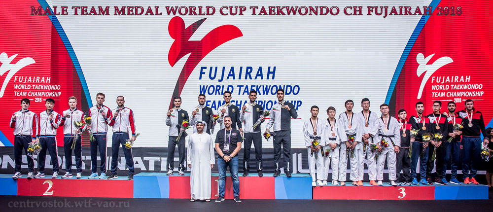 Team-Male-Medal-Taekwondo-Fujairah-2018