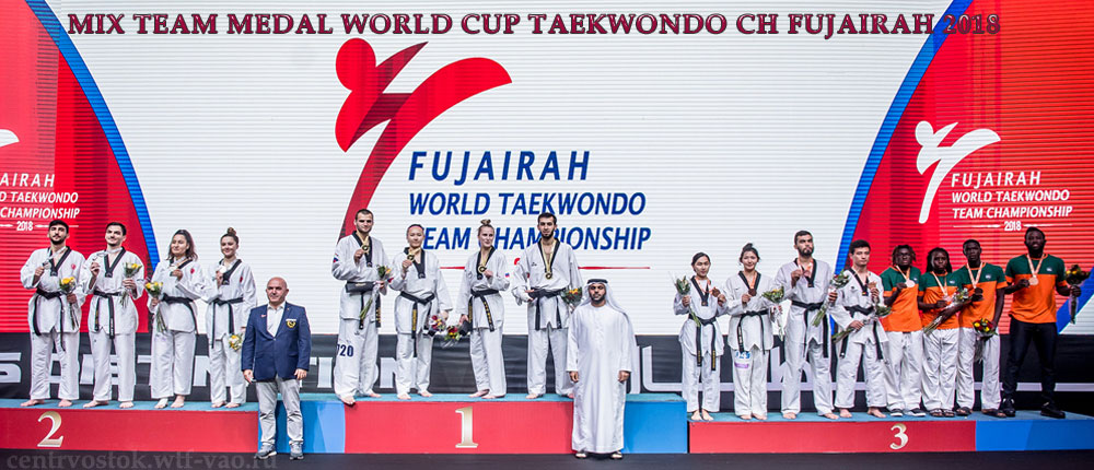 Team-Mix-Medal-Taekwondo-Fujairah-2018