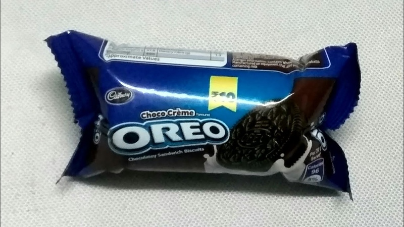 Cadbury oreo creme biscuit chocolate review