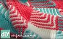 Plaids stricken mit Patchwork-Technik | DIY einfach kreativ