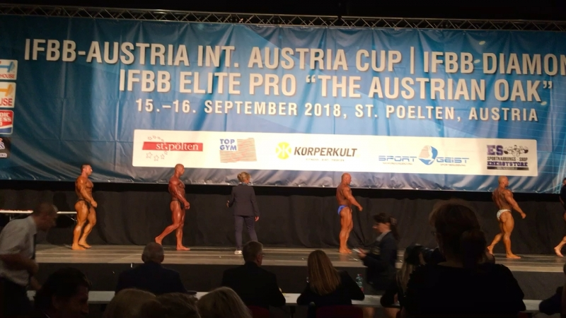 IFBB Elite Pro Austria - 16.09.2018 St. Pölten