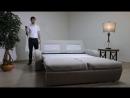 Диван-кровать «Нью-Йорк» с выкатным механизмом на пульте управления.
