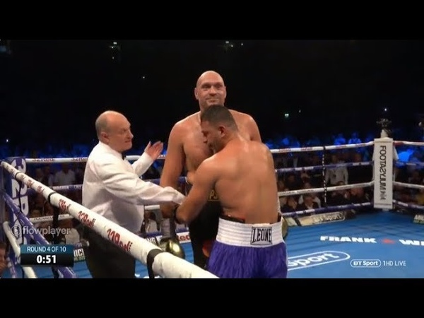 Tyson Fury vs. Sefer Seferi FULL FIGHT