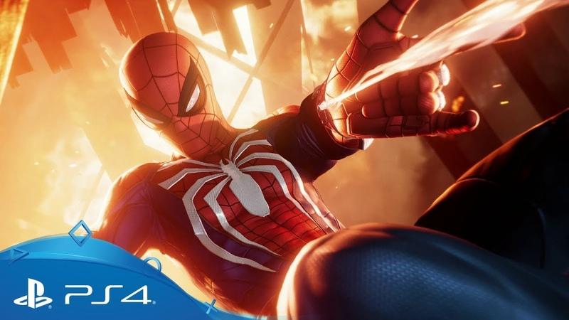 Marvel's Spider Man SDCC 2018 Story Trailer PS4