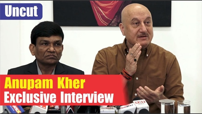 Anupam Kher Exclusive Interview On The Accidental Prime Minister   Akshaye Khanna