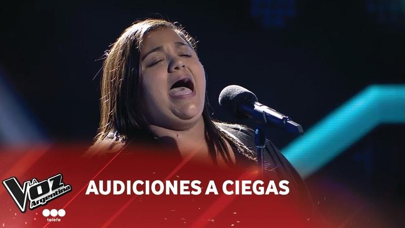 Jimena Díaz - Así no te amará jamás - Amanda Miguel - Audiciones a ciegas - La Voz Argentina 2018