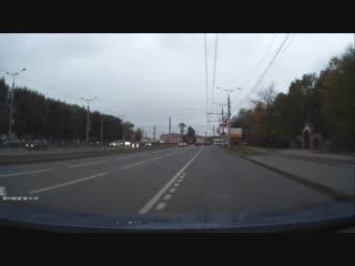 Авария в Чебоксарах.