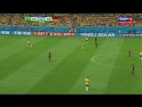 08.07.2014. 23:45. Футбол. Чемпионат мира. 1/2 финала. Бразилия - Германия