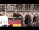 Ernst Cran beim Neustart von Pegida München Wir nennen die Schweinereien beim Namen